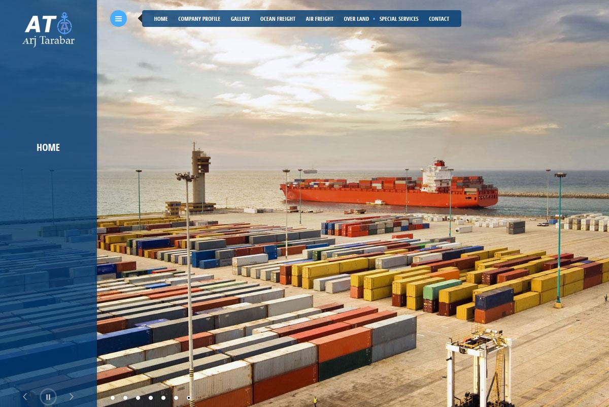 طراحی سایت|Arjtarabar.com