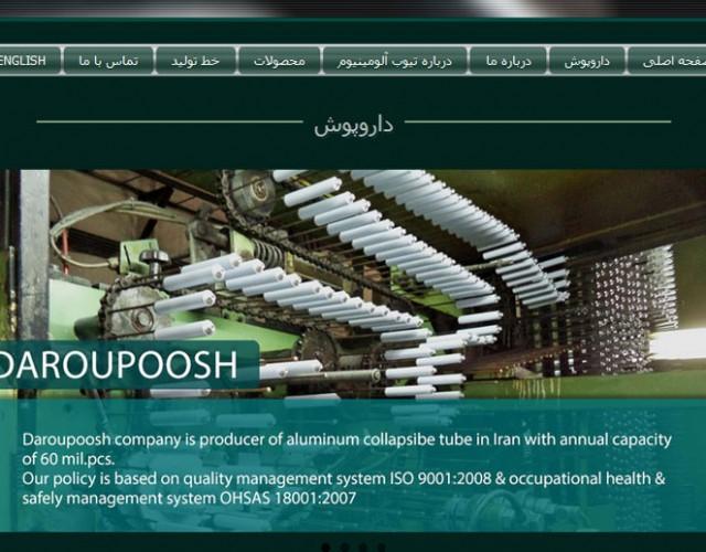 طراحی سایت|Daroupoosh.com