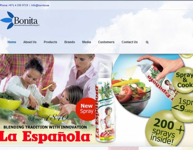 طراحی سایت|bonita.ae