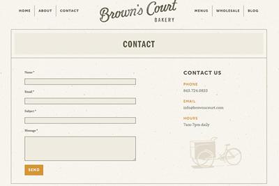 """طراحی های منحصر بفرد صفحات """" تماس با ما """""""