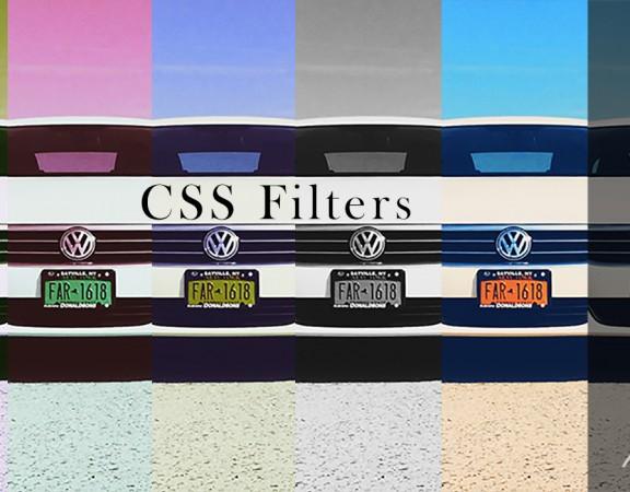 فیلترهای CSS