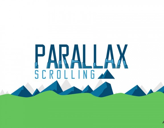 طراحی اسکرول پارالاکس