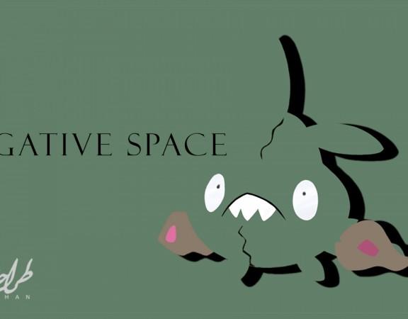 استفاده از فضای منفی