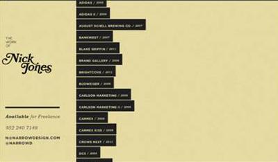 ایده های خلاقانه برای طراحی منوی سایت