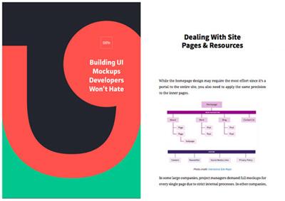 کتاب رایگان طراحی Mockupها