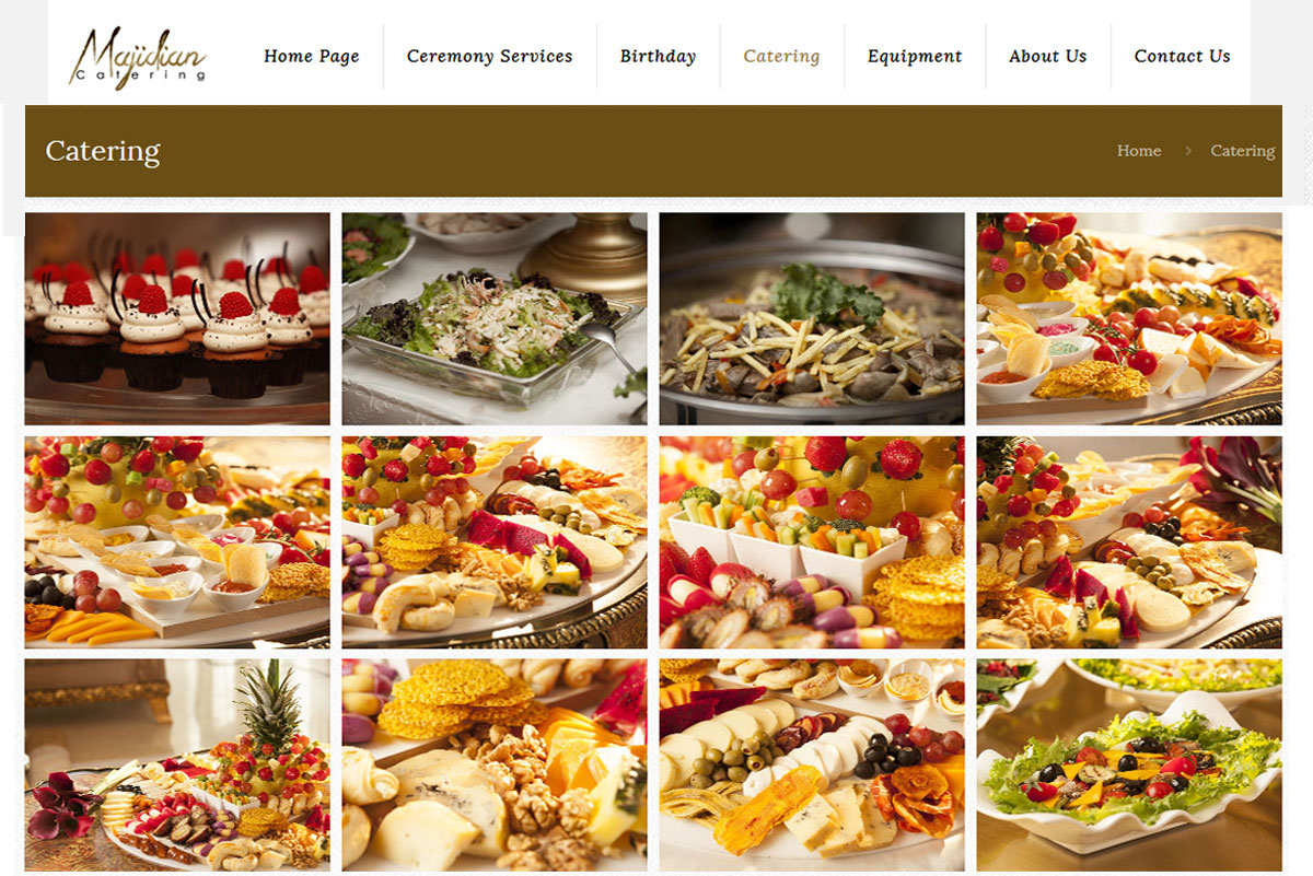طراحی سایت majidian