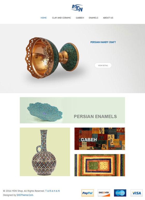 طراحی سایت|mdnshop
