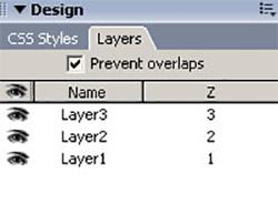 لایه ها در Dreamweaver