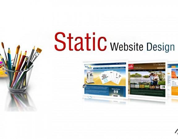 انواع سایت: سایت استاتیک