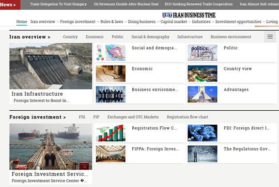 طراحی سایت|  iranbusinesstime.com