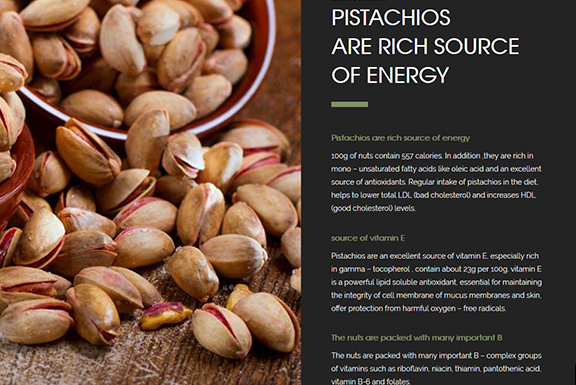 طراحی سایت| greenvalleypistachio.com